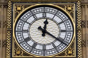 Die Uhr des Big Bens