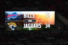 Endergebniss Bills - Jaguars NFL in London