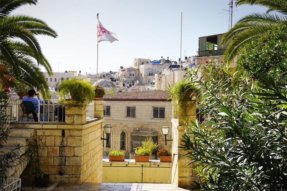 Hoteltipp Jerusalem Austrian Hospice Eingangsbereich