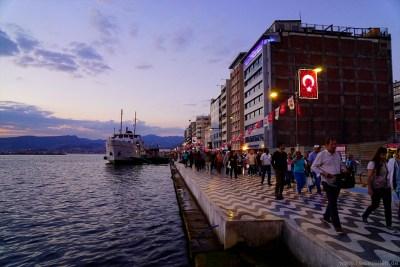 Reisen Reisetipps Reisebericht Türkei Türkische Ägäis Izmir Strandpromenade