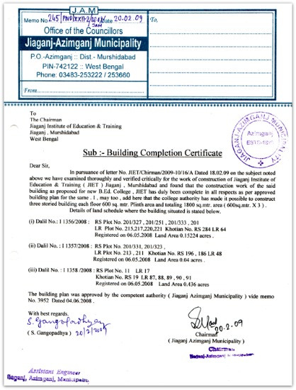 Occupancy Certificate  Completion Certificate - Importance
