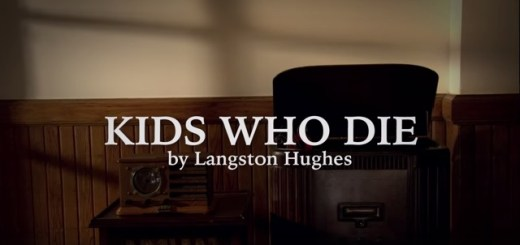 Kids Who Die by Langston Hughes