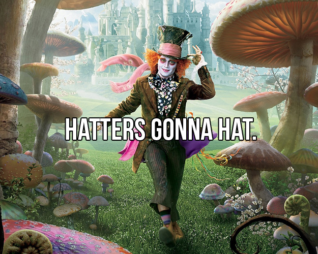 Johnny Depp Wallpaper Quotes Mad Hatter Memes Image Memes At Relatably Com