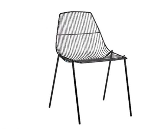 Arrow Chair Black