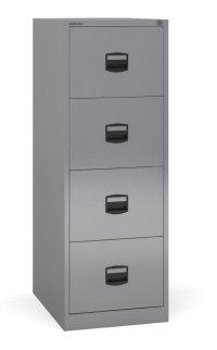 Bisley - 4 Drawer Metal Filing Cabinet