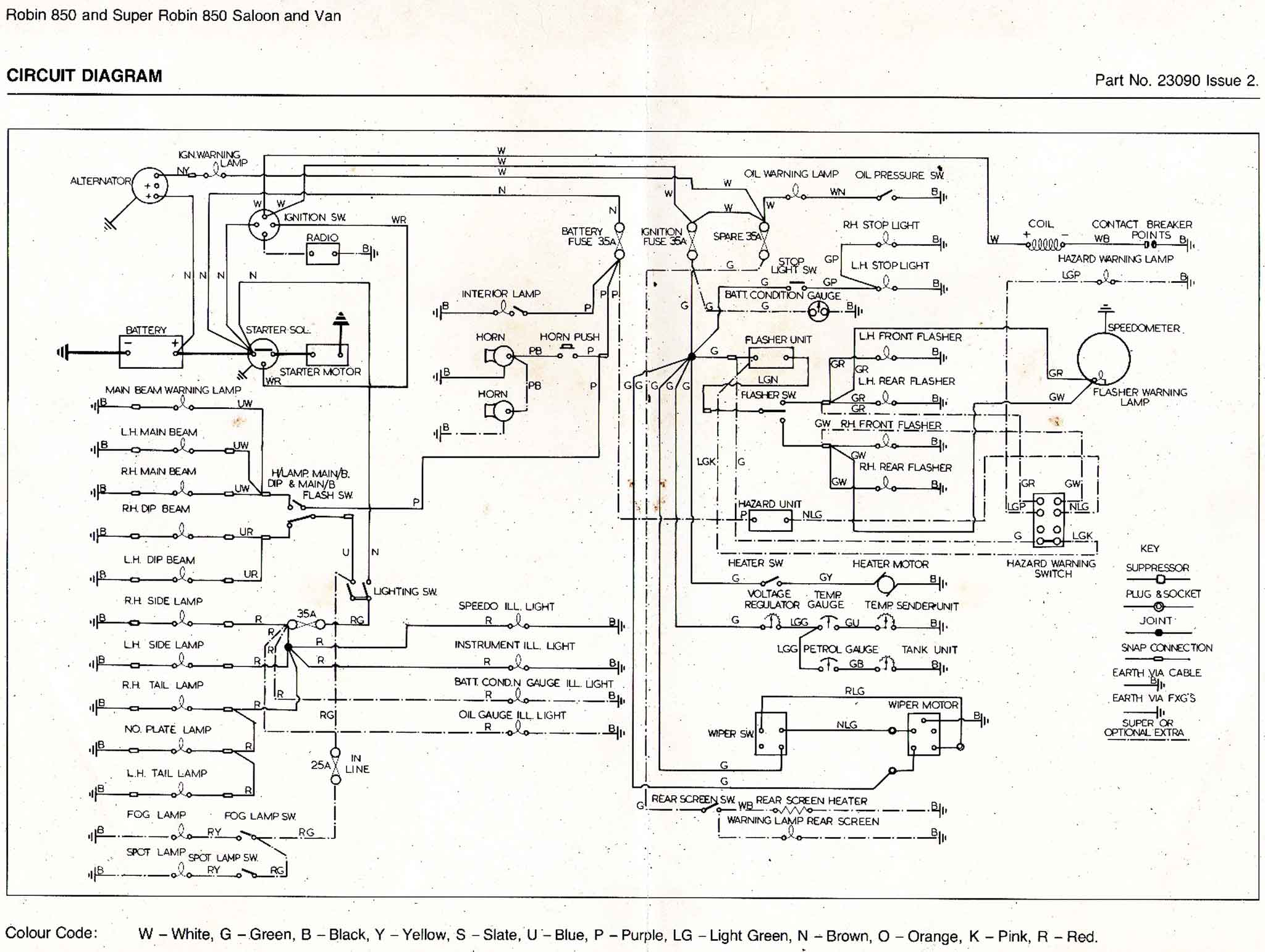 reliant heaters wiring diagrams