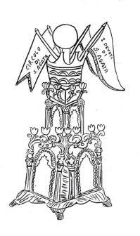 Sant' Agata, candelora sant' agata da colorare