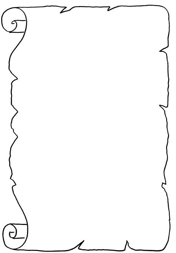 Disegni Pergamena Da Stampare