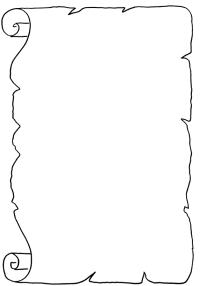 Immagini Di Pergamena Da Colorare Disegno Di Drago Con