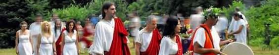 Modern Greeks Re-Enacting Ancient Practices