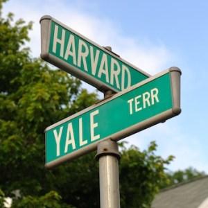 Harvard and Yale