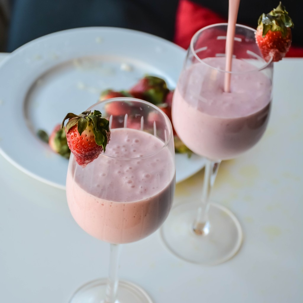Strawberry Lemon Milkshake-2
