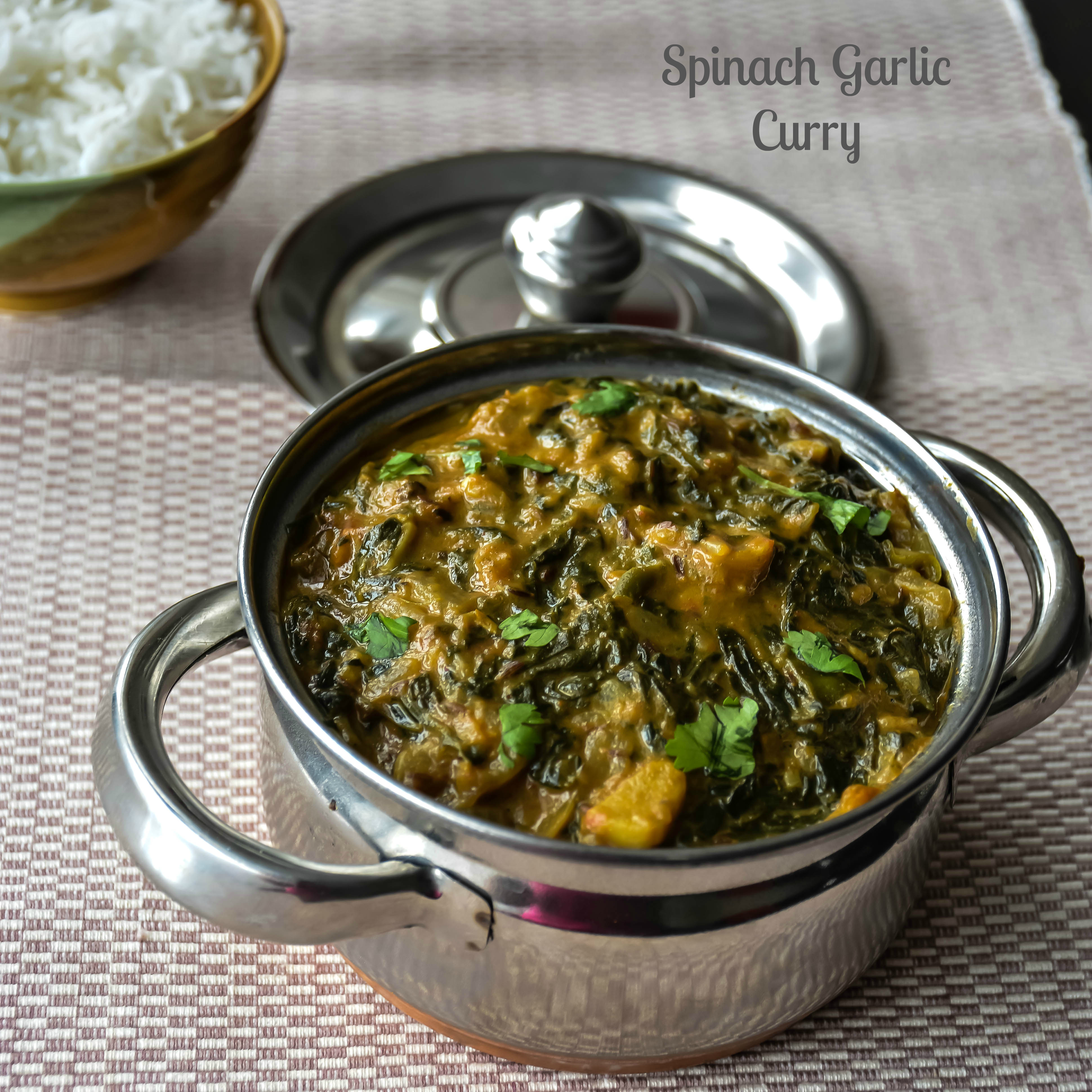 SpinachGarlicCurry