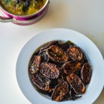 30 Minute Spicy Brinjal/Eggplant Fry