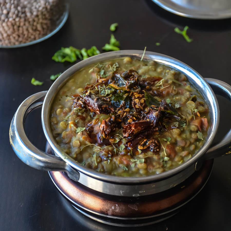 how to cook green lentils recipe