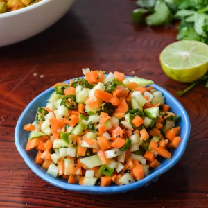 Spicy Mango Carrot Salad