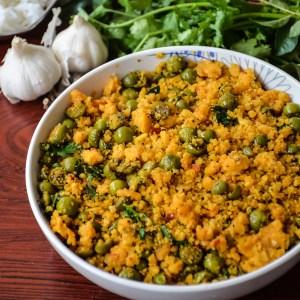 Sundakkai paruppu usili/ Turkey berry lentil stir fry