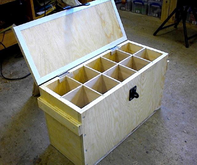 gunpowder storage container