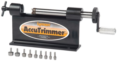 Lyman Accutrimmer with 9 Pilot Multi-Pack