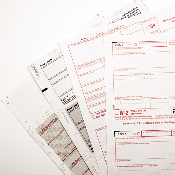 Custom Tax Forms - Create Your Own Business Tax Forms