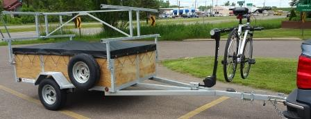 4 Place Kayak Canoe Utility Trailers For Sale Remackel