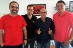 Fábio Bentes, Paulo Mota Filho, Eduardo Bandeira de Melo e André Cavalcante