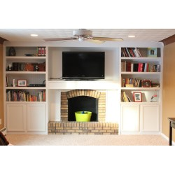 Small Crop Of Fireplace Built Ins