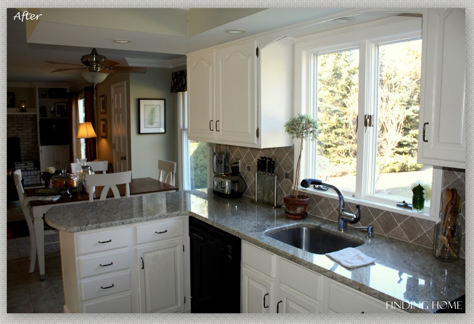 paint kitchen cabinets before and after paint kitchen cabinets white Painting Laminate Kitchen Cabinets