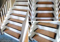 Remodelaholic | Carpet to Wood Stairs