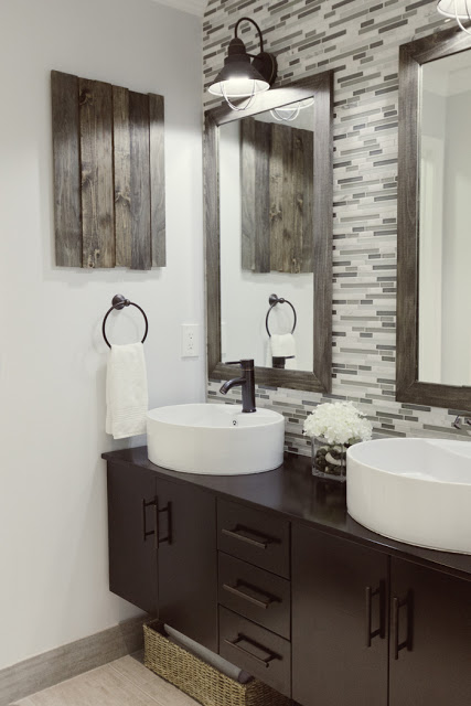 Remodelaholic Home Sweet Home on a Budget Master Baths by Bloggers - bathroom ideas on a budget