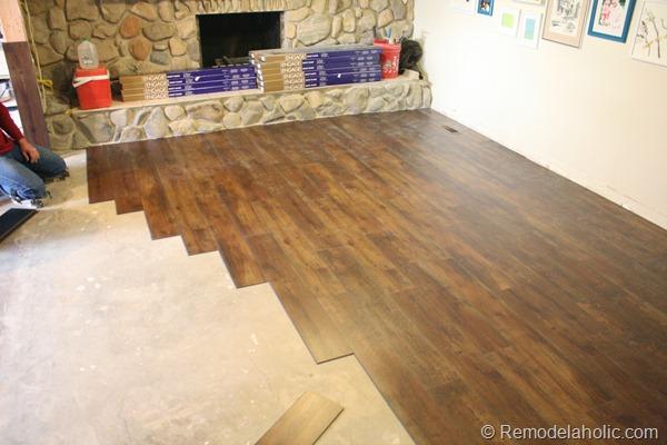 My New Living Room Flooring - living room floor