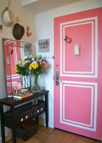 25+ Great DIY Door Ideas