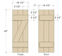 Download Diy Wooden Shutters Plans PDF diy wood bench ...