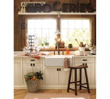 Pottery Barn Country Kitchen