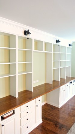 Small Of Building Wall Shelving Unit