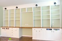 Remodelaholic   Build A Wall-to-Wall Built-In Desk and ...