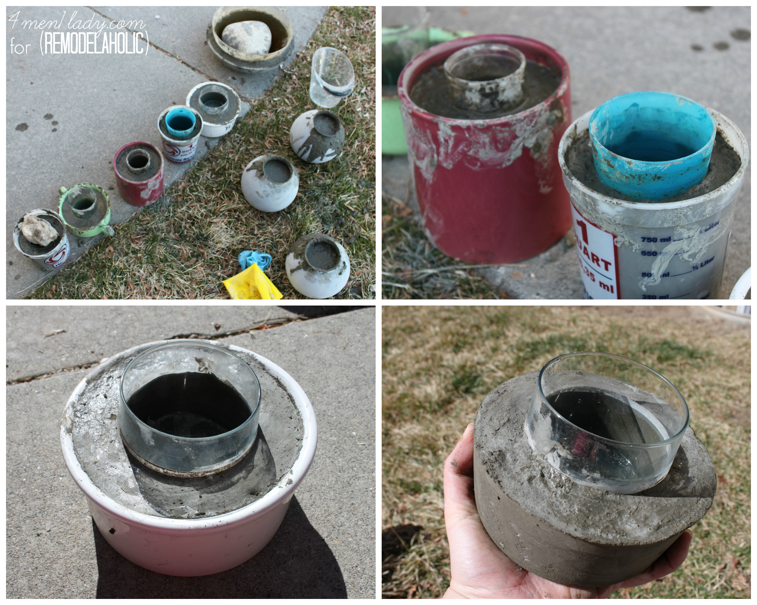 Diy Concrete Planter Molds Diy Do It Your Self