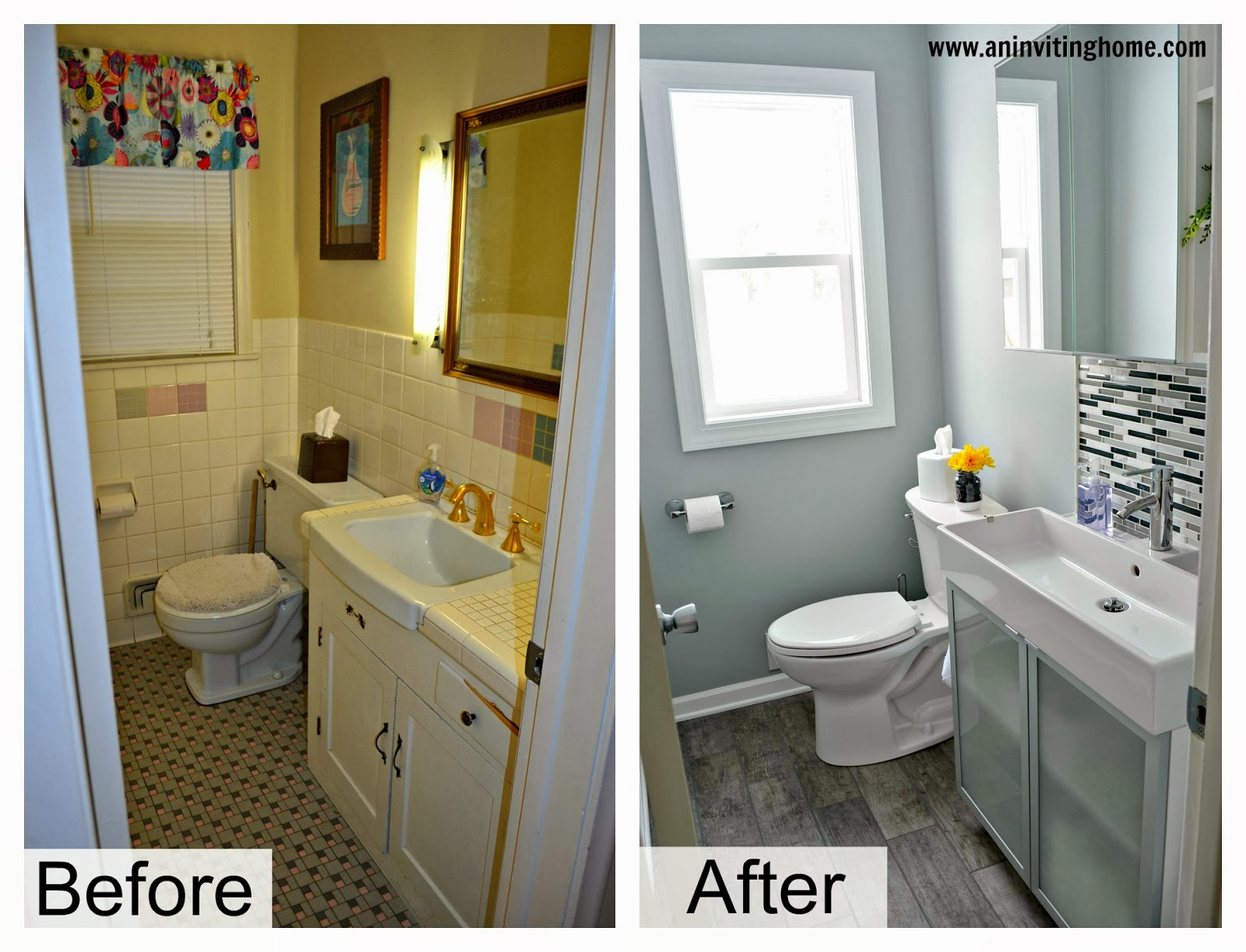 1950s Bathroom Remodel Before And After classy 20+ bathroom remodel before and after photos inspiration of