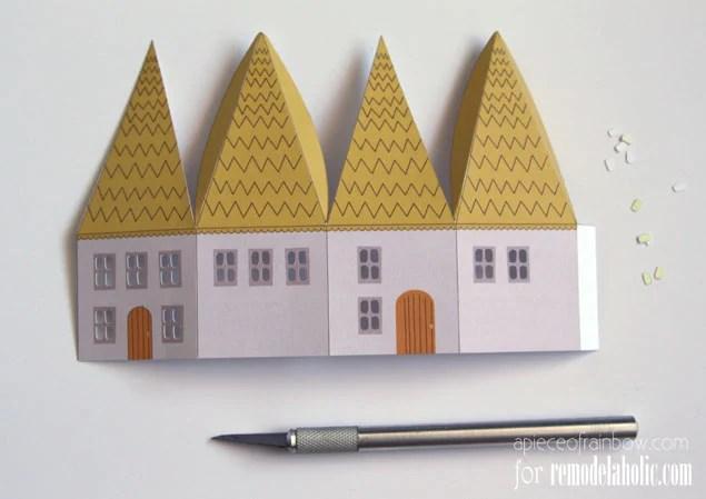 Printable Mini House Luminaries Remodelaholic Bloglovin\u0027