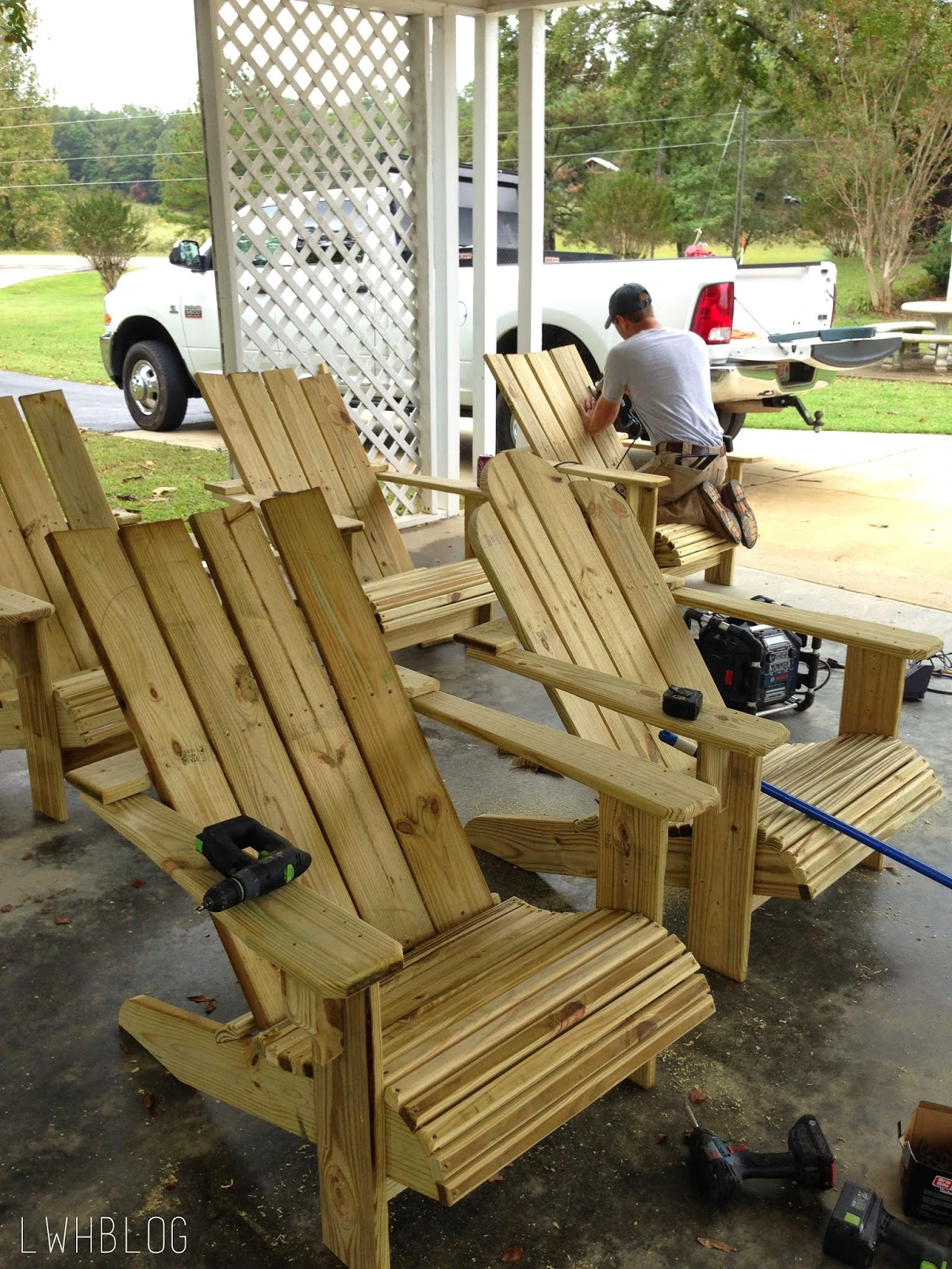 Size Adirondack Chair Plans Free Printable Free Woodworking