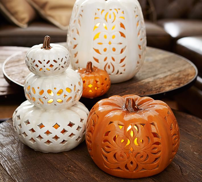 Fall White Pumpkins Wallpaper Remodelaholic Beautiful And Easy Pumpkin Tablescape