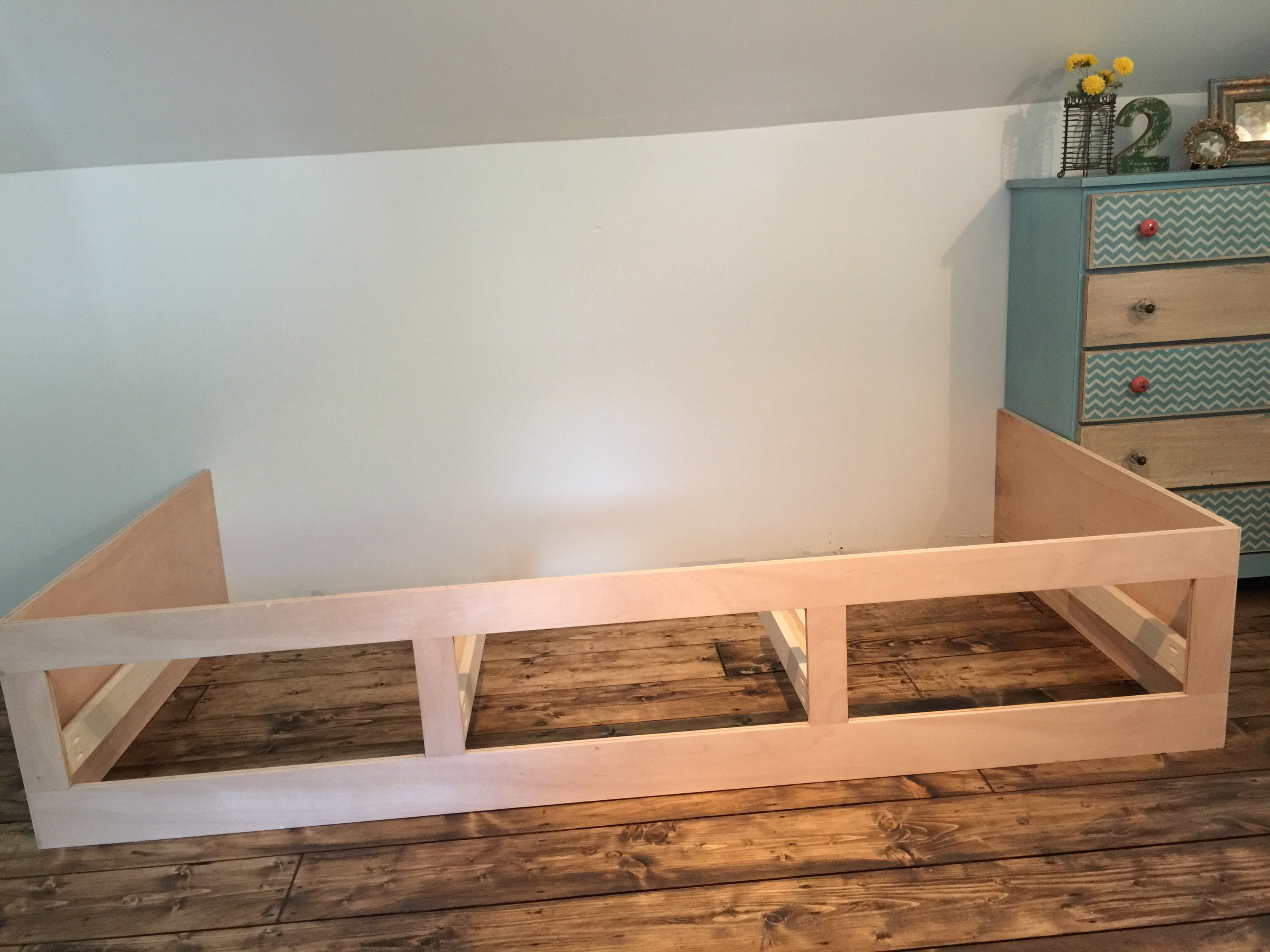 Built In Bed Nook Beautiful Built-In Bed Nook with Storage Drawers | Remodelaholic | Bloglovin'