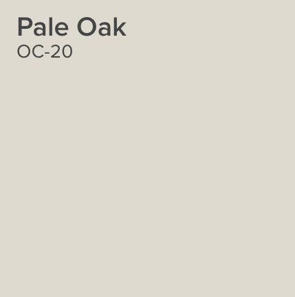 Remodelaholic Color Spotlight Benjamin Moore Pale Oak - thank you notes sample