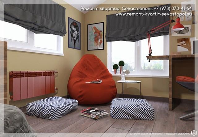 Современный дизайн однокомнатной квартиры фото