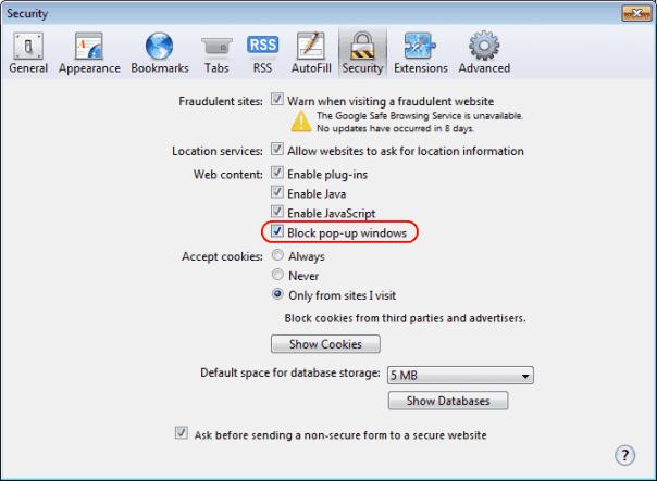 Safari-popup-blocker-setting