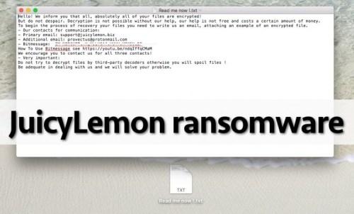 JuicyLemon-Ransomware-Removal