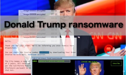 uninstall Donald Trump Ransomware
