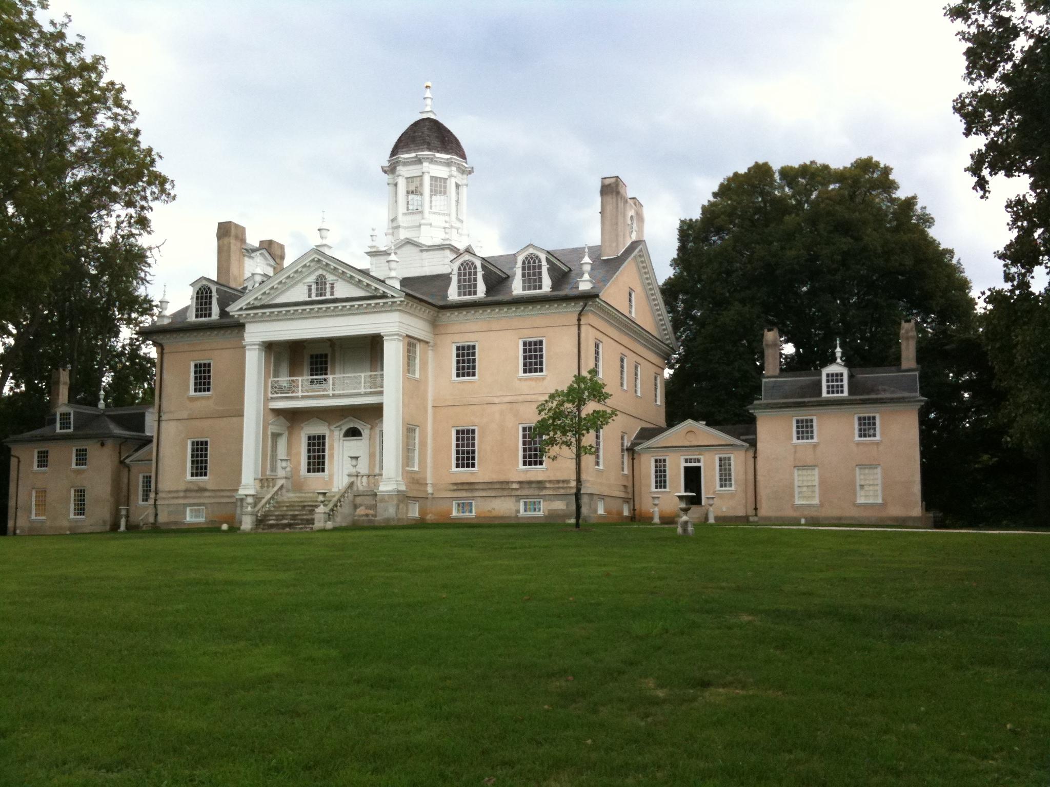 18th century hampton mansion