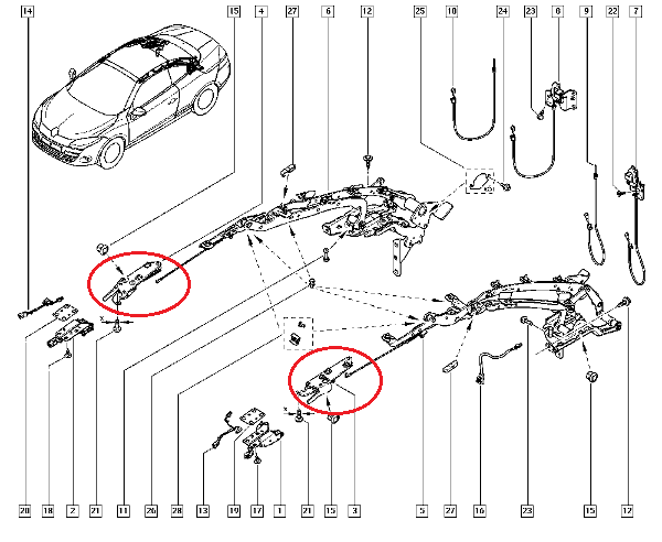 renault clio service and wiring diagram