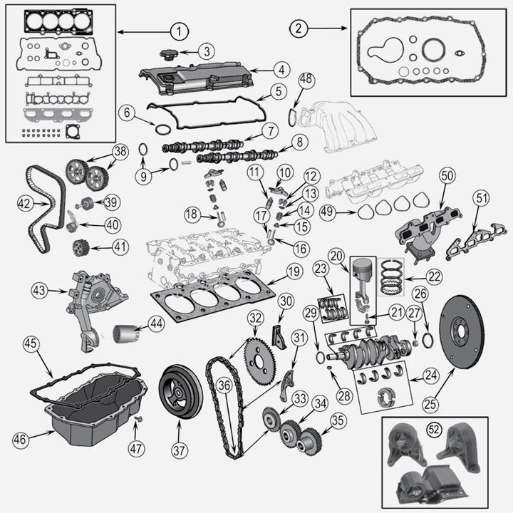 jeep engine diagram
